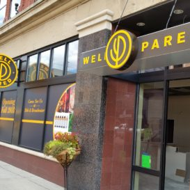 Well Pared - Exterior signage and window decals