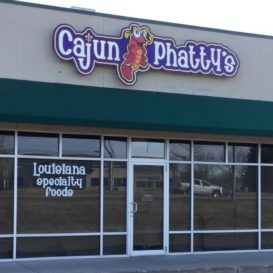 Cajun Phatty's - Restaurant sign