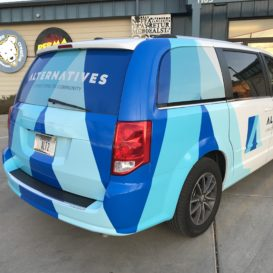 Alternatives vehicle wrap - rear