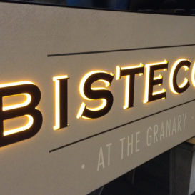 Bistecca - Exterior sign
