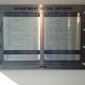 Department of Interior - Government building directory
