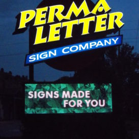 Permaletter Sign Company - sign lighting
