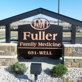 Fuller Family Medicine - Monument sign