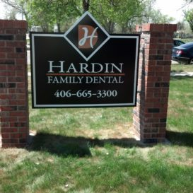 Hardin Dental - Monument sign