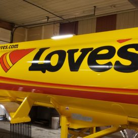 Loves Vehicle Graphic