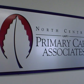 North Central Primary Care - Indoor sign