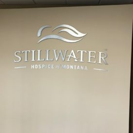 Stillwater Hospice Interior Sign