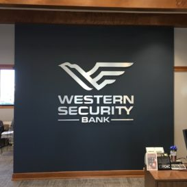 Western Security Bank Interior Wall