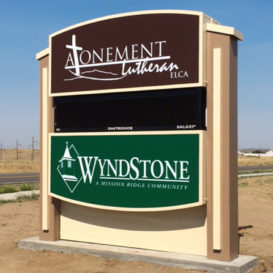 Wyndstone - Monument sign