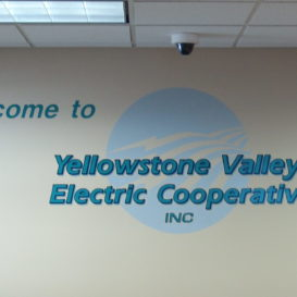 Yellowstone Valley Electric - wall decal